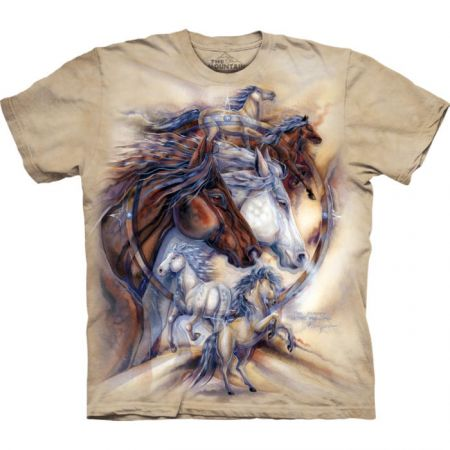 "The Mountain T-Shirt ""Journey Horse"""